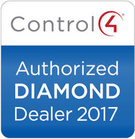 We're A Platinum Control4 Dealer